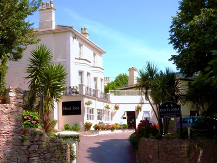 Bed and Breakfast Torquay Hotel Iona