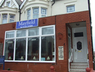 Cheap B and B Blackpool mayfield hotel