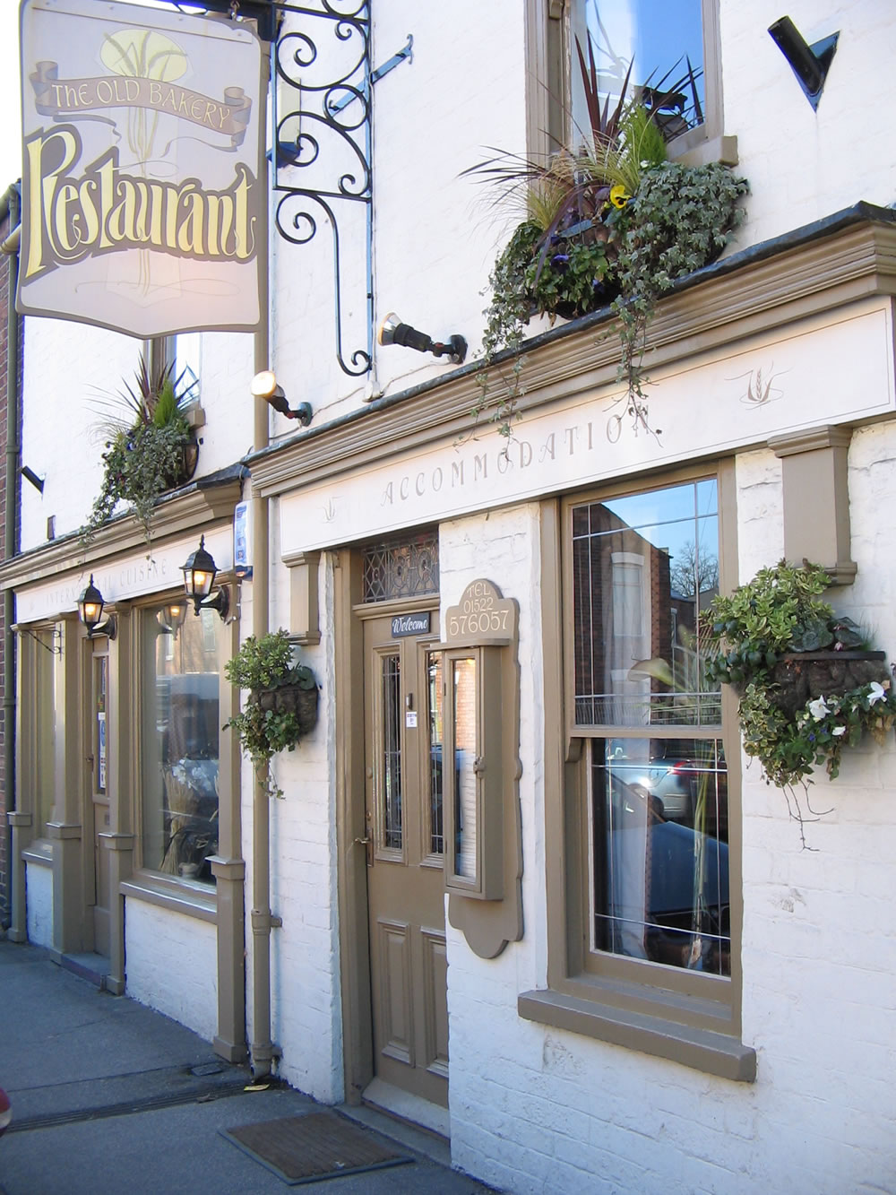 The old bakery restaurant with rooms lincoln lincolnshire for Classic house bakery
