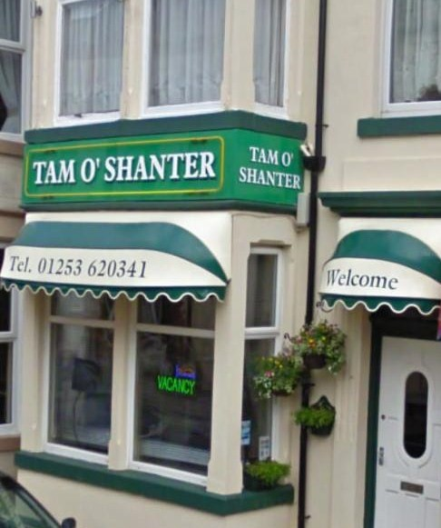 Bed and Breakfast Blackpool Tam O Shanter