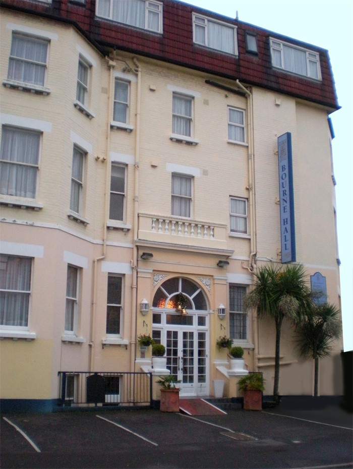 Cheap B and B Bournemouth Bourne Hall Hotel