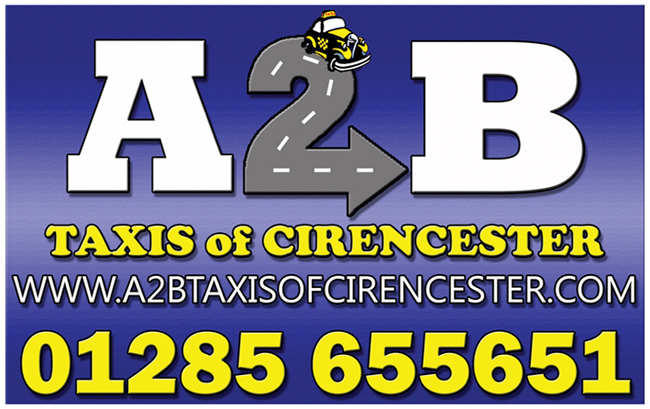 A2B Taxis Of Cirencester is listed as things to do in Cirencester