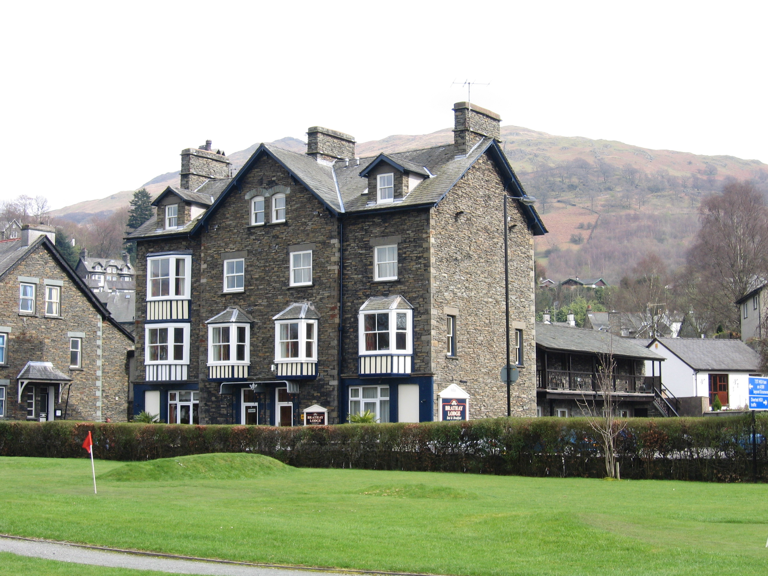 Cheap B and B Ambleside Brathay Lodge