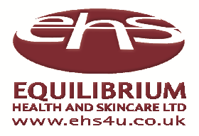 When staying in your hotels for disabled people Equilibrium Health and Skincare Ltd