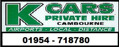 KCars Private Hire is listed as things to do in Cambridge