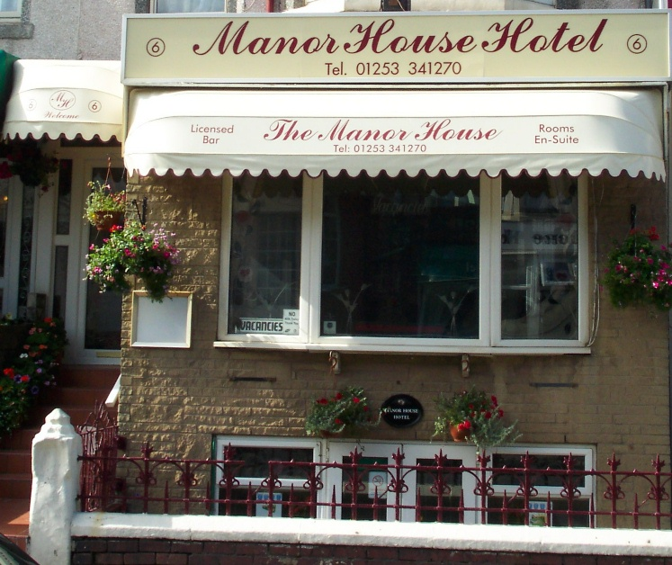 Bed and Breakfast Blackpool Manor House Hotel