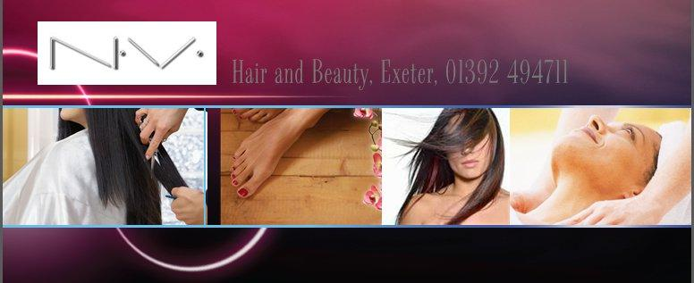 NV Hair and Beauty is listed as things to do in Exeter